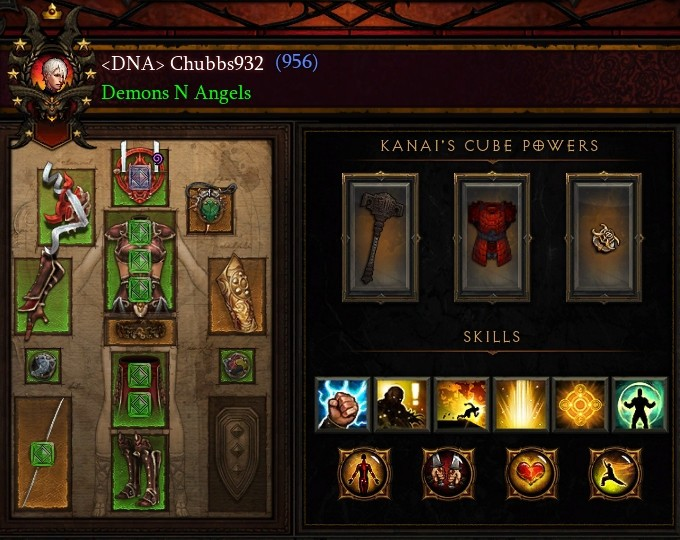 Diablo  Monk Build Ps