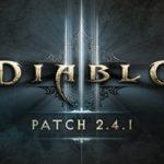 Diablo3 パッチ2.4.1備忘録