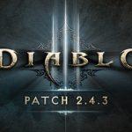 PS4 Diablo3 パッチ2.4.3 パッチノート(正式版)